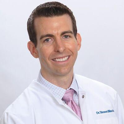 Dr. Steven Blackburn working at Archstone Dental & Orthodontics