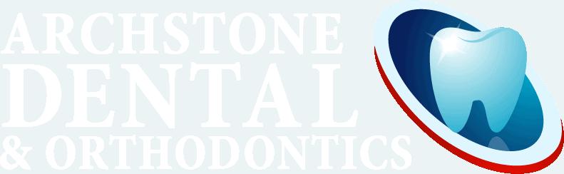 family dentist archstone dental orthodontics azle tx transparent white text logo