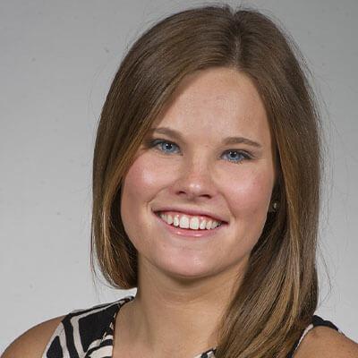 Dr. Mackenzie Youngman working at Archstone Dental & Orthodontics